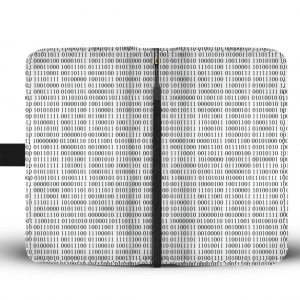 Comptuer binary Wallet phone Cases