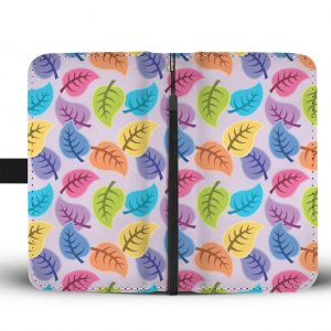 Colorful leaves Phone Cases front