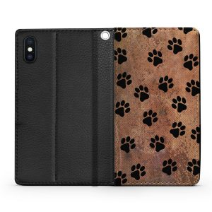 dog paw print phone case  awesome wallet cases